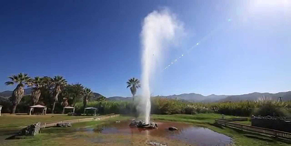 Old Faithful geyser in Calistoga, California, in the Napa Valley.