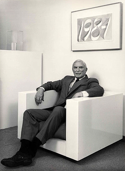 Henry Hopkins, Curator at SFMOMA, the San Francisco Museum of Modern Art, Circa 1984