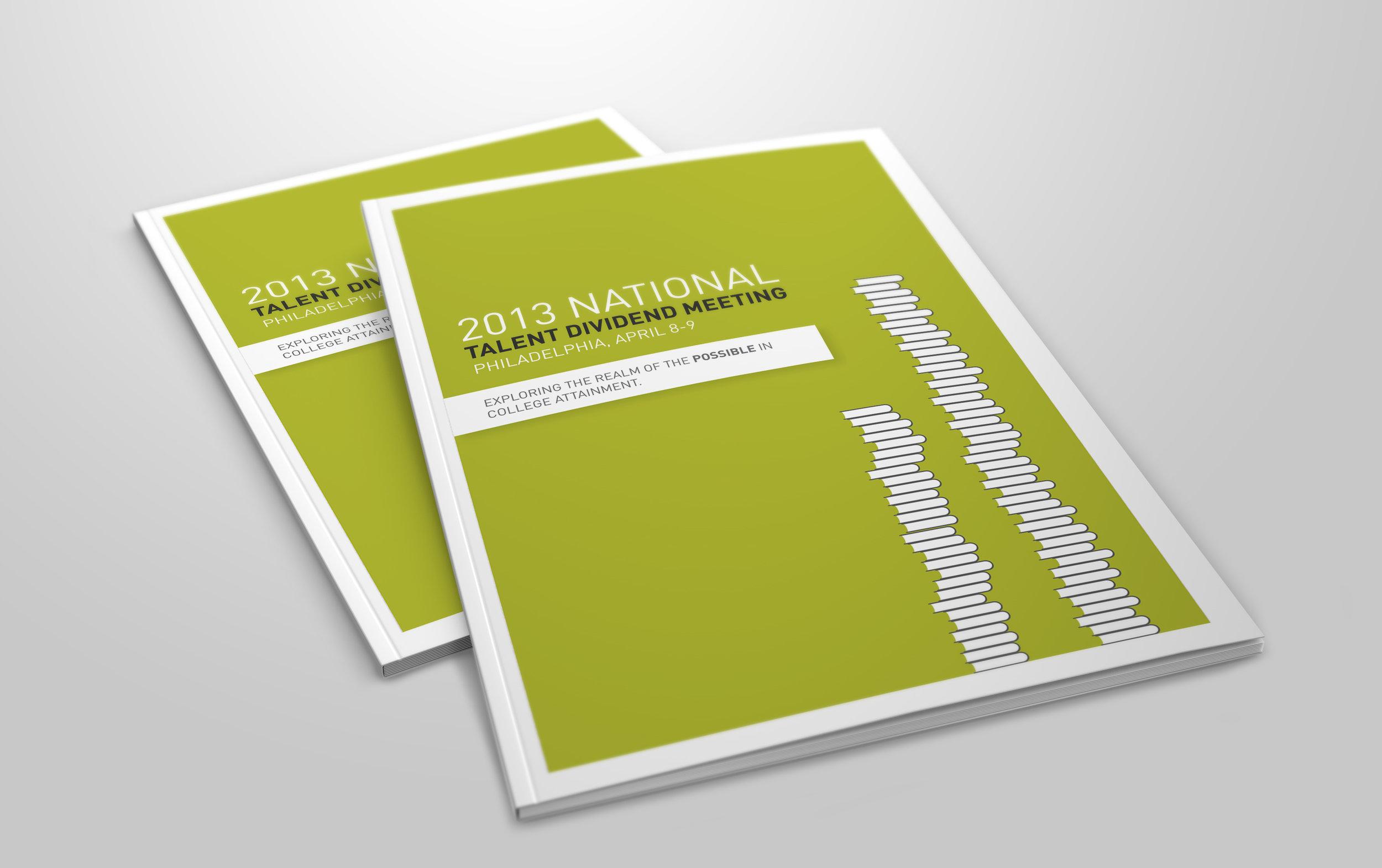 Event Program Booklet