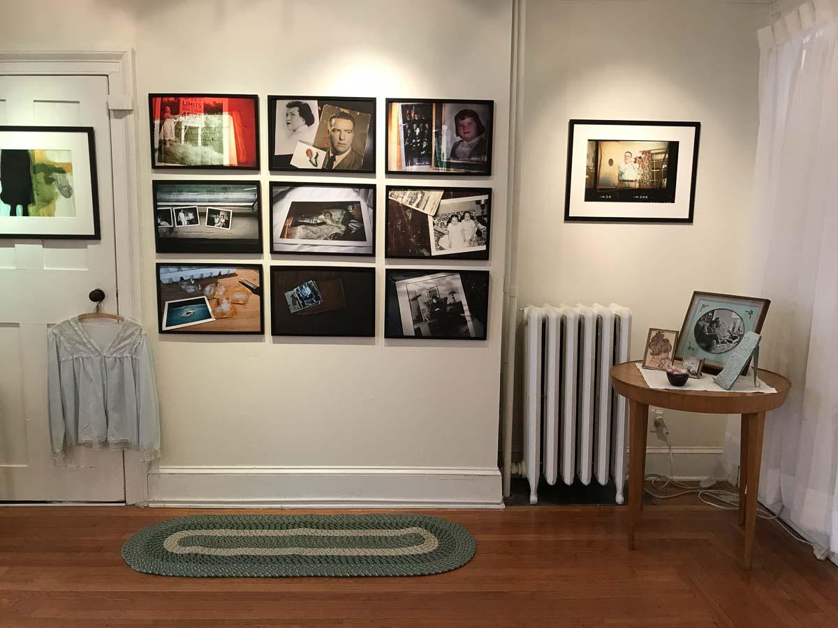 Installation at Davis Orton Gallery -