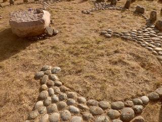Walk A lEGACY labyrinth -