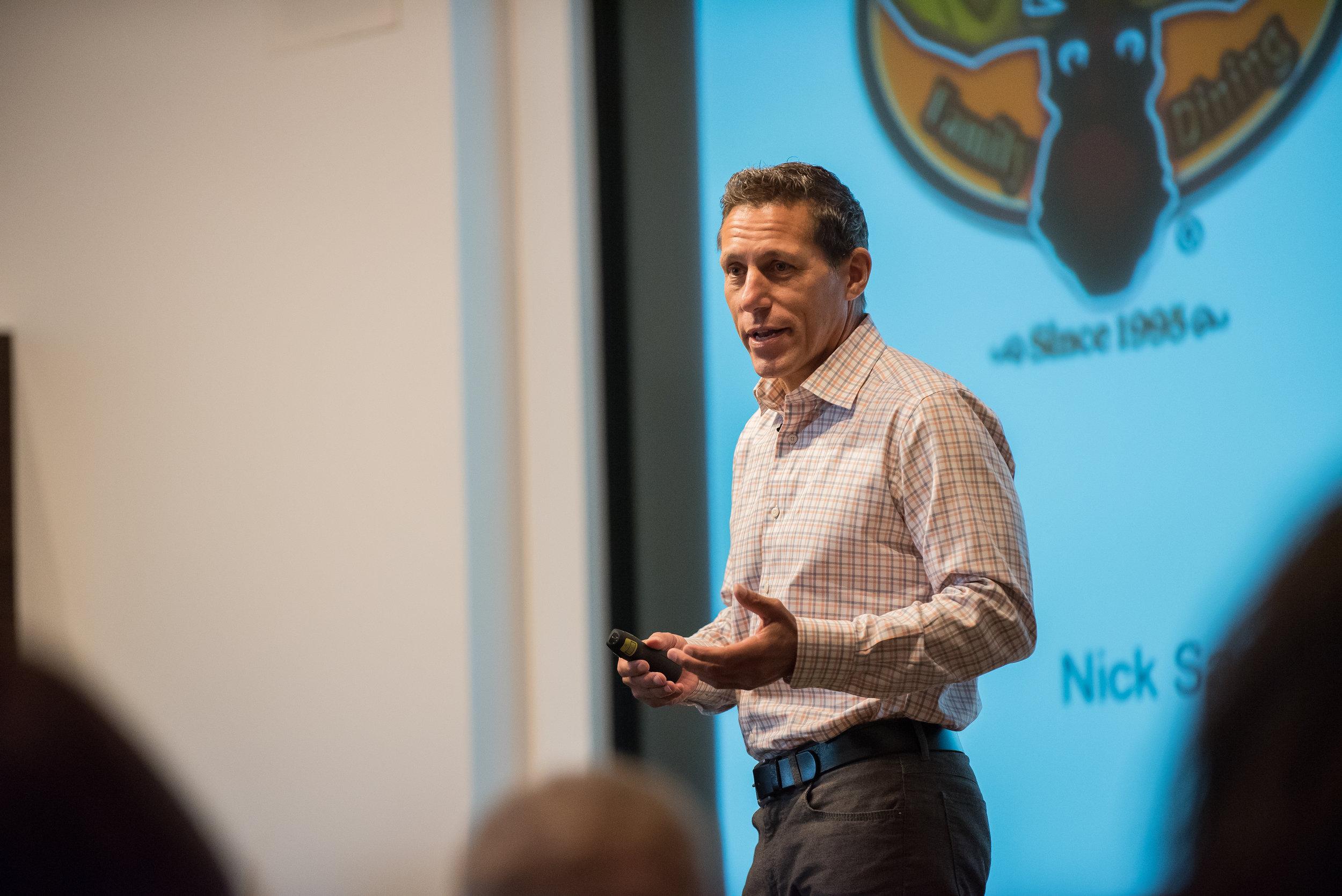 Nick Sarillo Presenting