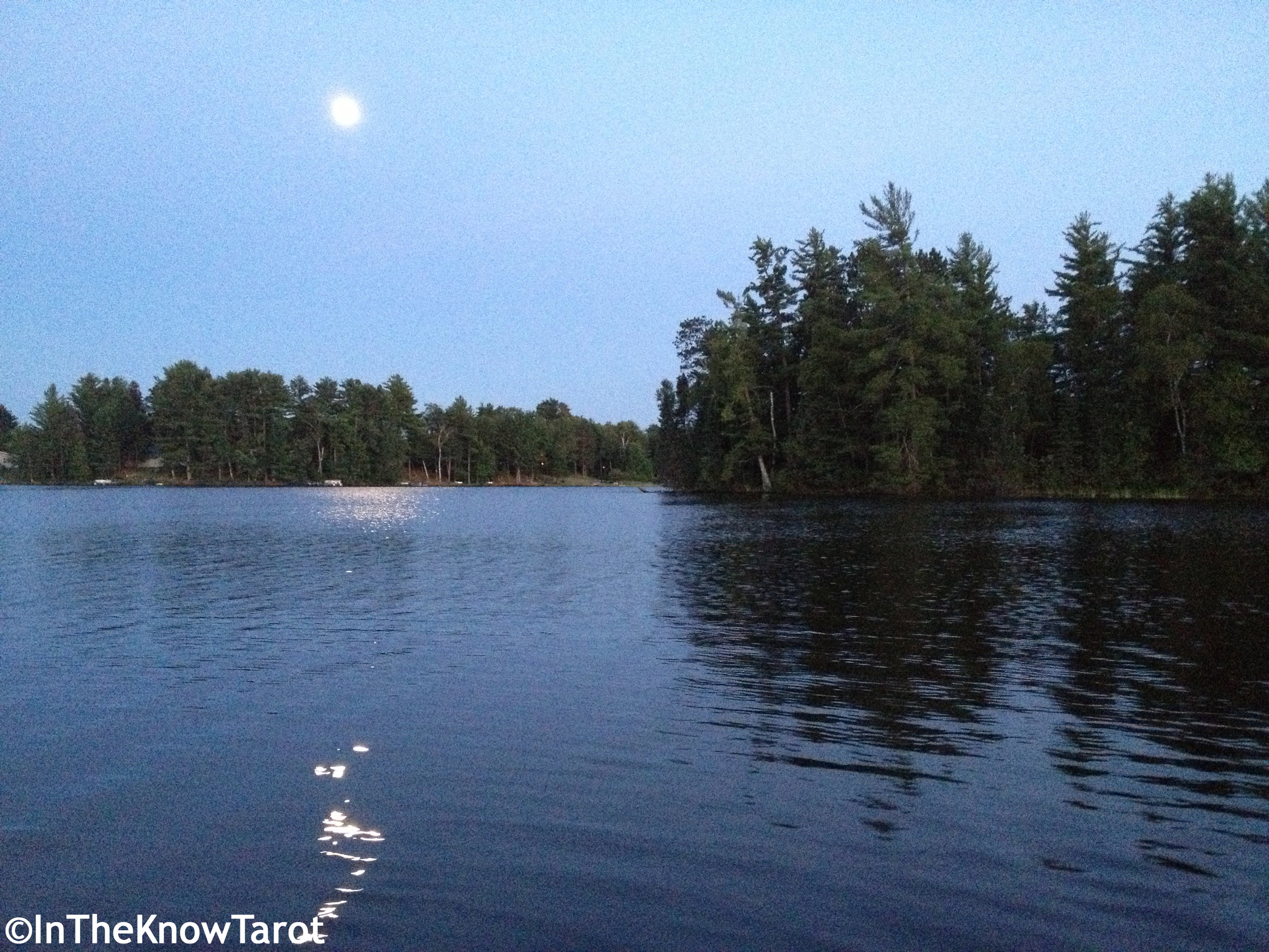 Near Lake Tomahawk WI