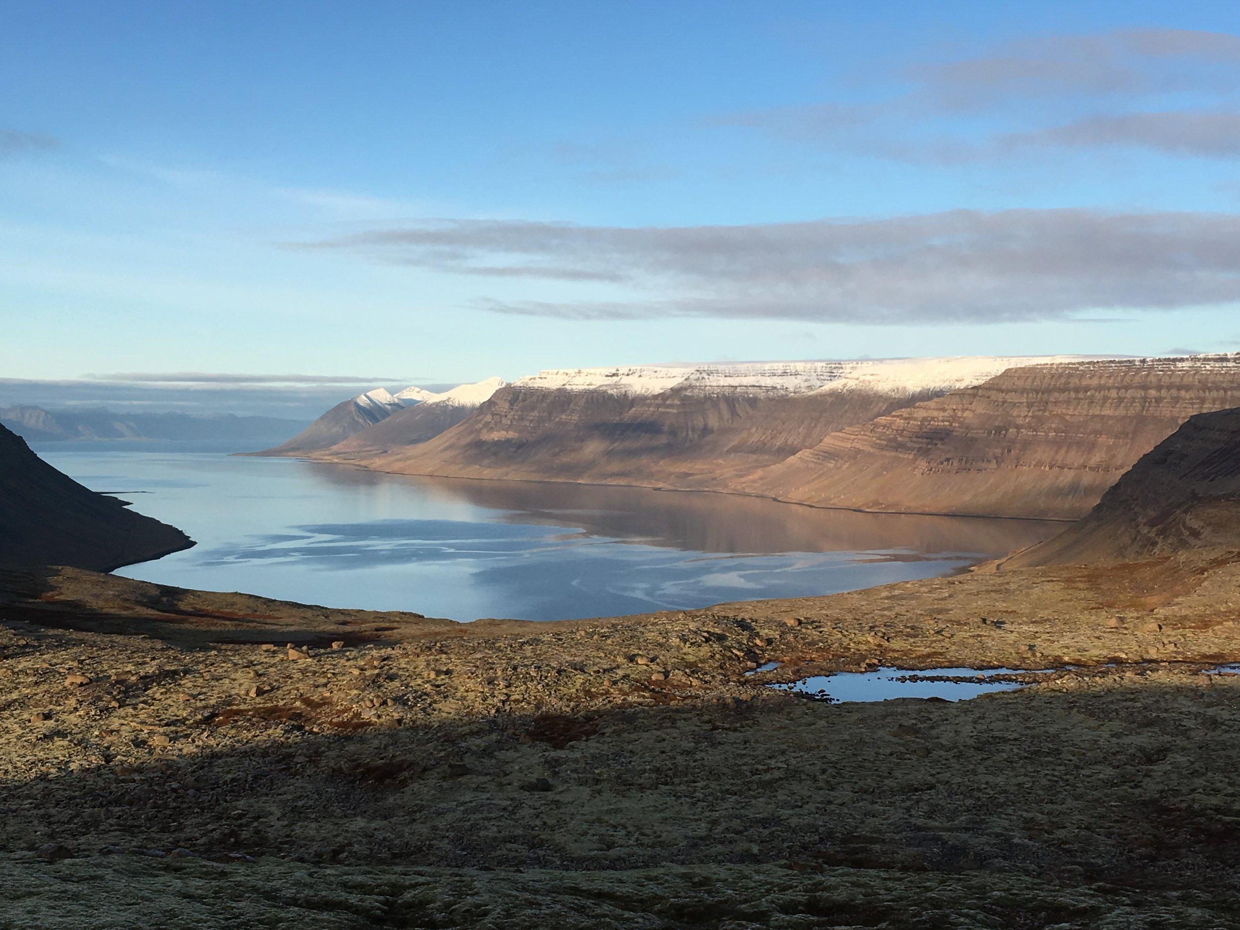 Dynjandisheidi Westfjords, Iceland