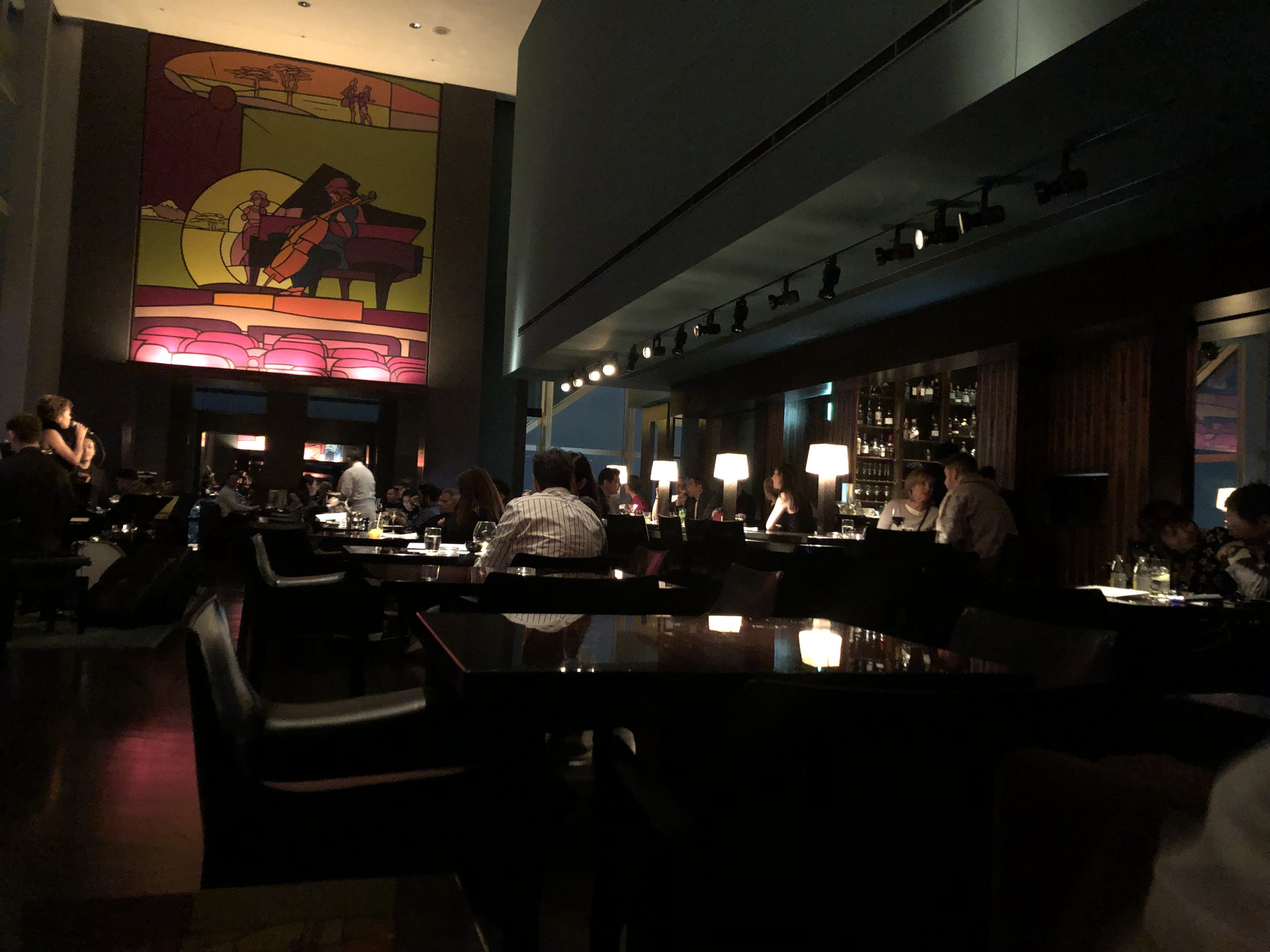 Reliving that iconic picture of Anthony sitting at the bar, New York Bar, Park Hyatt Tokyo.