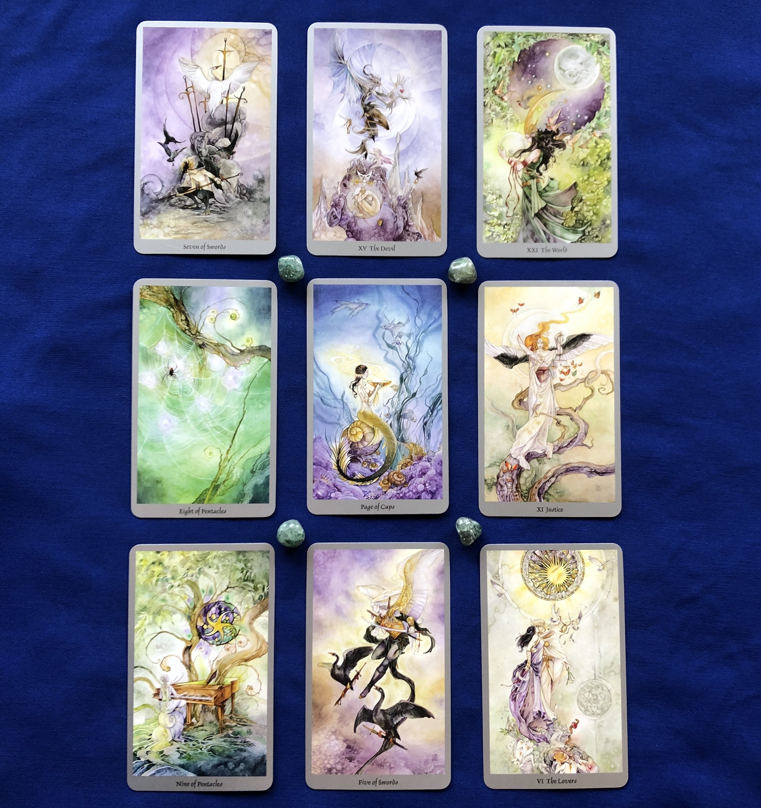 Top Row: 1, 2, and 3 Birthpaths Middle Row: 4, 5, and 6 Birthpaths Bottom Row: 7, 8, and 9 Birthpaths