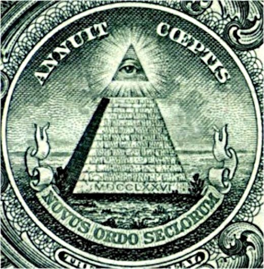 The back of the Great Seal on the dollar bill. More than just a symbol for the Illuminati.