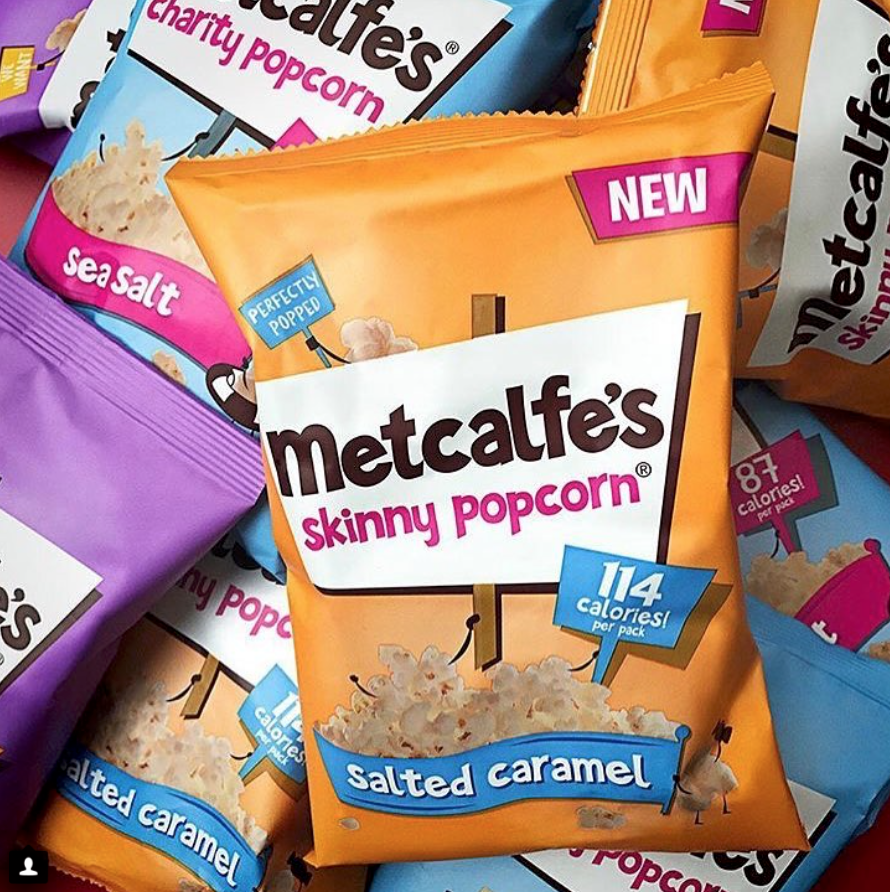 Metcalfe's Skinny Popcorn  samples in Busting The Supermum Myth goody bags