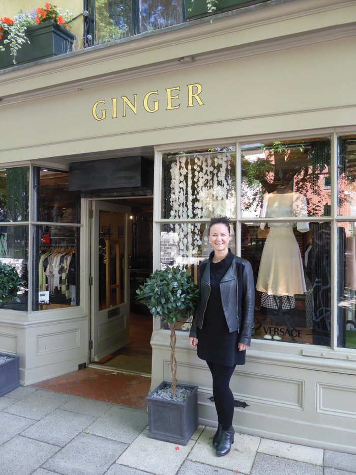 Ginger Womenswear, photo of Beckie from Boutique Magazine