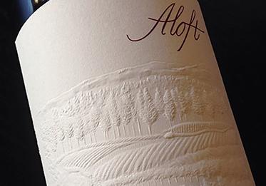 Aloft Wine Label