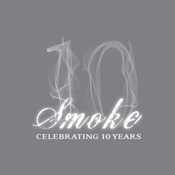 Smoke - 10 Year Anniversary Logo