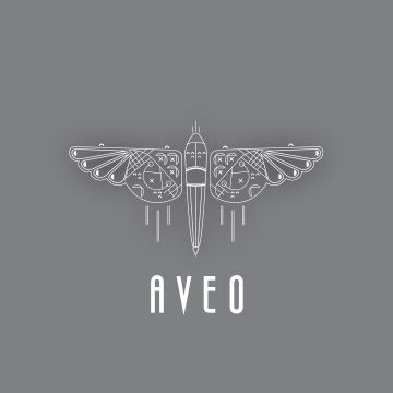 AVEO Logo and Label Design