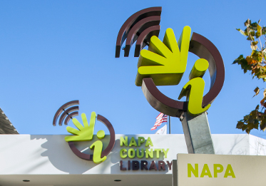 Napa County Library Logo and Branding Design