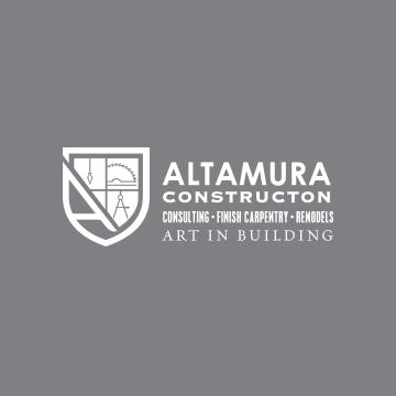 Altamura Construction Logo Design