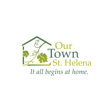 Our Town St. Helena Logo Design