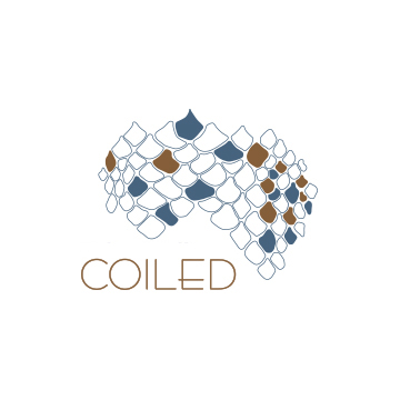 COILED Wines Logo/Branding and Label Design