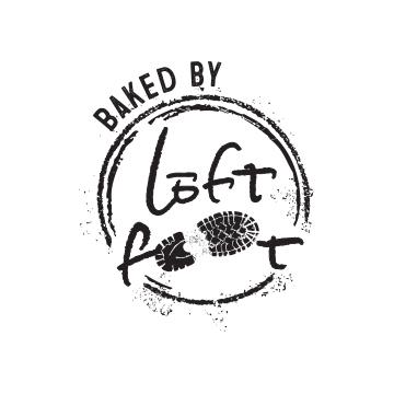 Baked by Leftfoot Logo Design