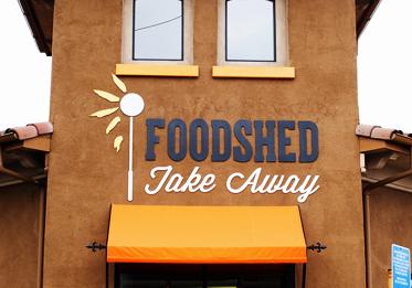 Foodshed Take Away Logo/Branding Design