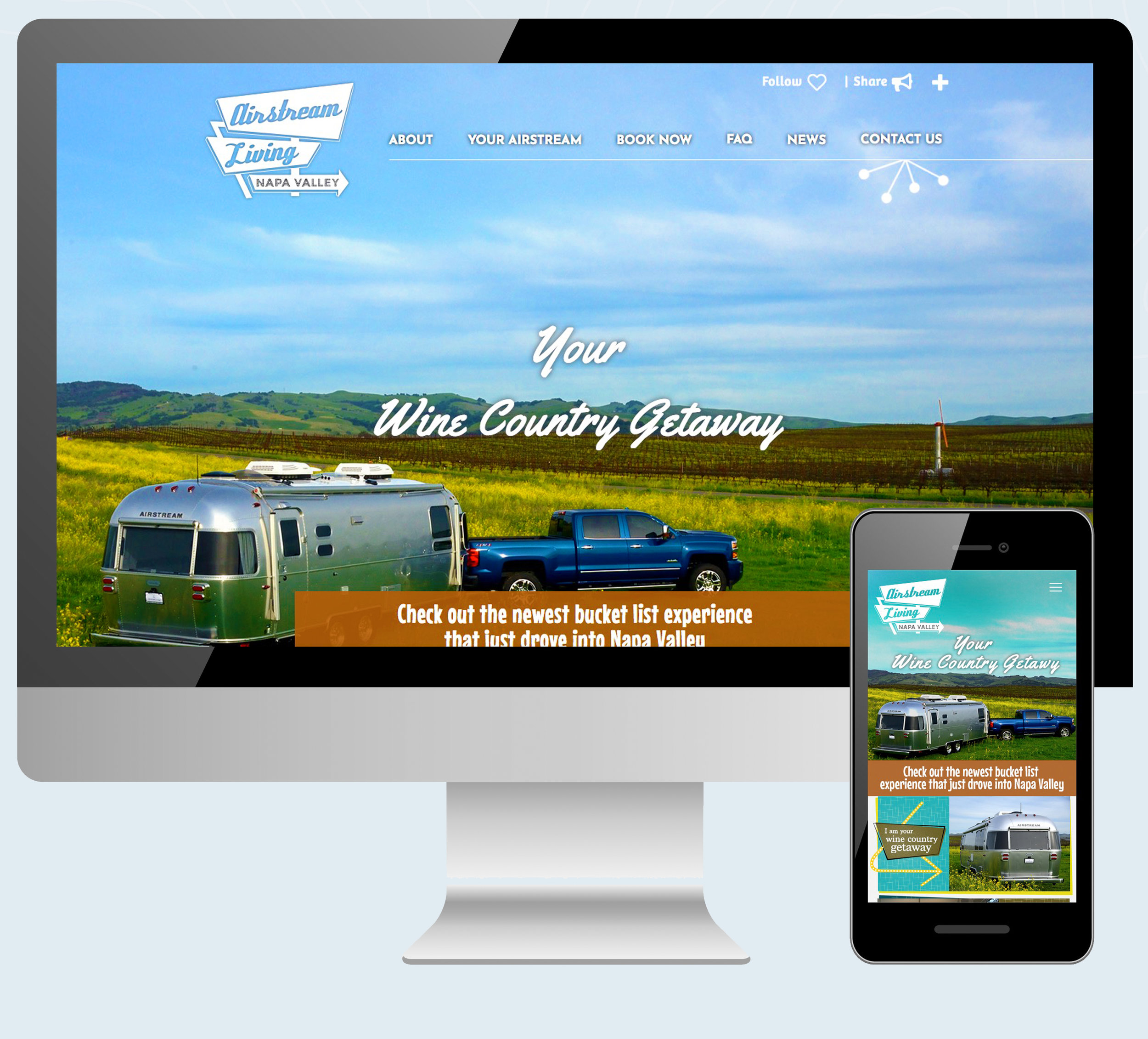 Airstream Napa Valley