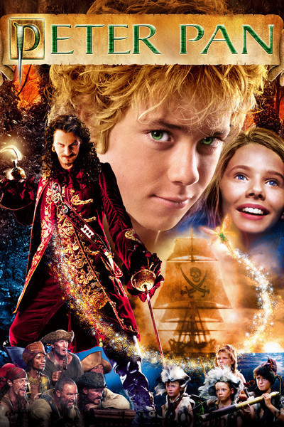 Peter Pan - This is my all-time favorite movie. Nope! I am not kidding, this is my favorite movie. 1. I love Jeremy Sumpter2. Who doesn't dream of staying forever young? Definitely watch this version of Peter Pan if you haven't seen it. You will not regret it.