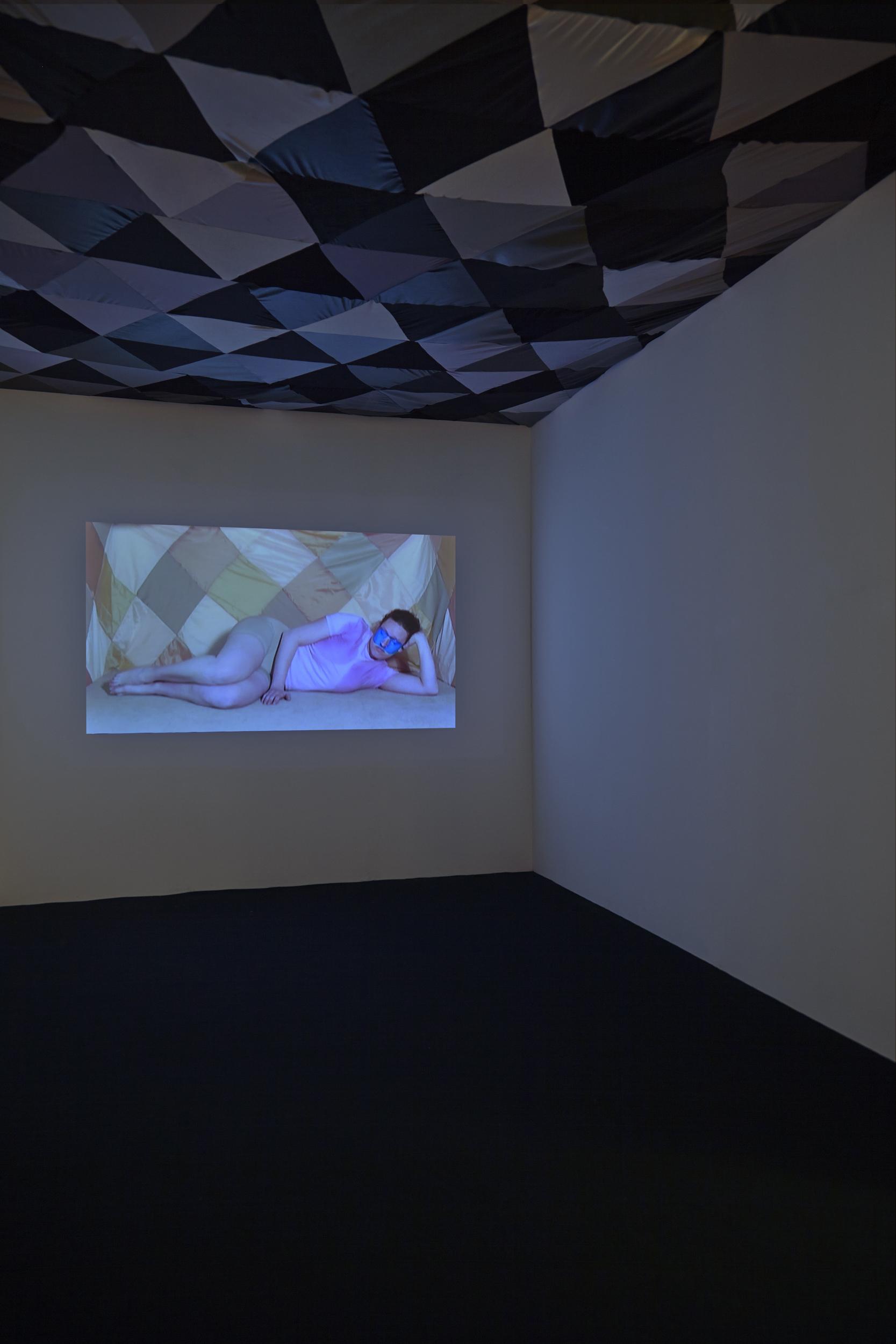 Treatment Room   Exhibition View, London Art Fair  2014