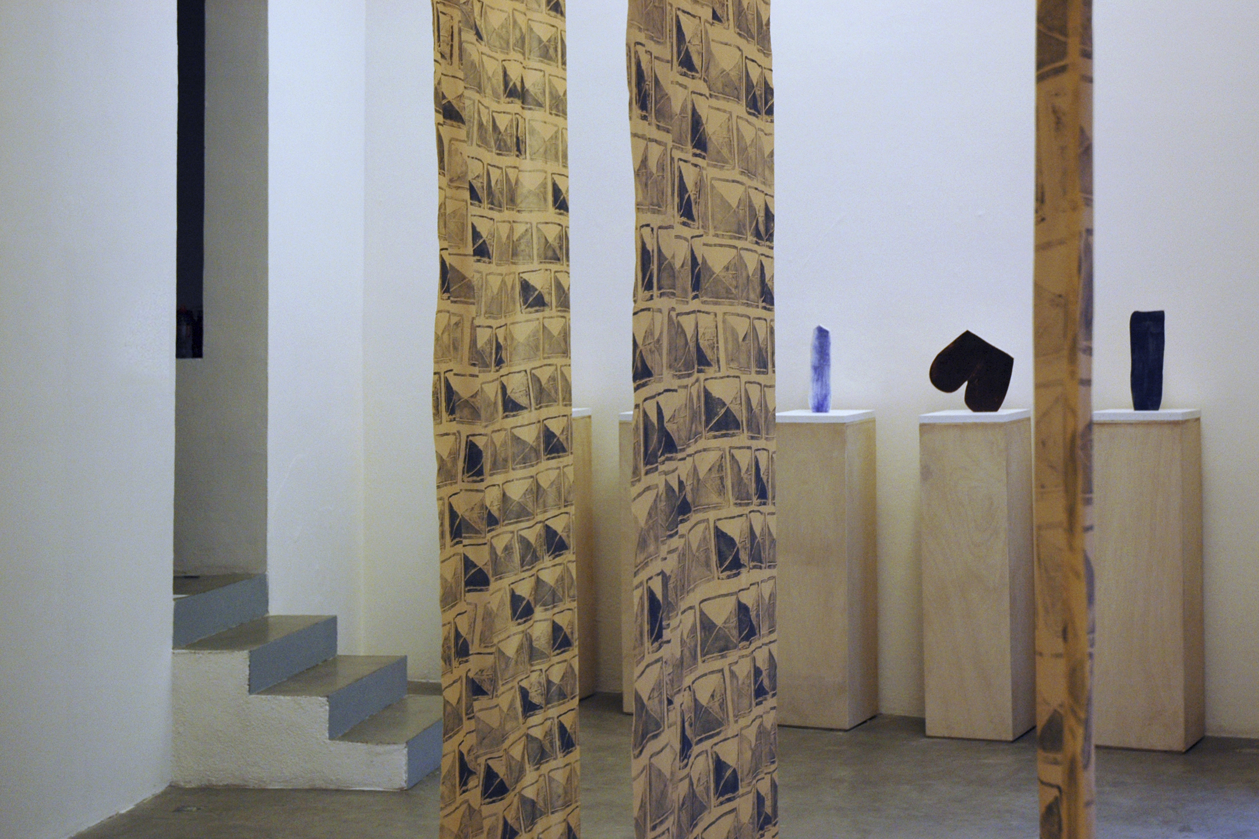 A Romance in Two Parts   Exhibition view Galeria Magda Bellotti, Madrid  2012