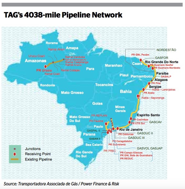 First Reserve Mulls Petrobras' Pipeline Deal - EUROMONEY INSTITUTIONAL INVESTOR [GLOBALCAPITAL]POWER FINANCE AND RISK. AUG. 17, 2015 EDITION [COVER STORY].First Reserve is considering bidding for an interest in Brazilian oil bellwether Petrobras' gas pipe line operating subsidiary Transportadora Associada de Gás, according to two sources close to the situation.READ MORE ON PAGE 1 HERE, JUMPING TO PAGE 7.