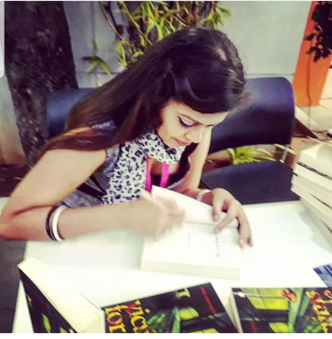 BRITISH COUNCIL.JAN.2019 - A candid shot of me signing copies of VICTIMS FOR SALE at a British Council outpost after an incredibly engaging book-reading and a discussion on crimes against women - an event, which saw a fantastic turnout from book-lovers and British Council patrons, alike.KEYWORDS: