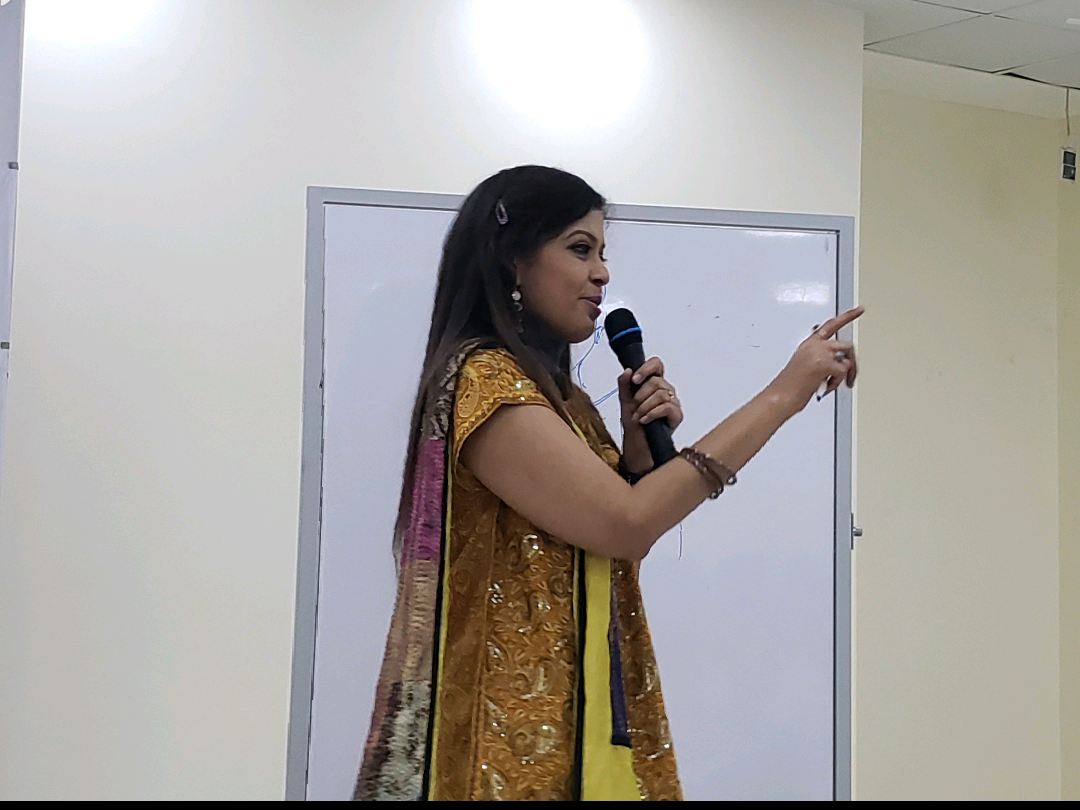 Hindustan International School (Cambridge IGCSE). Jan. 2019 - Addressing students (sixth-grade through tenth-grade) about the art of fiction-writing, storytelling and narrativization. This photo is a candid shot of me speaking to the students.KEYWORDS: Fiction, fiction authors, fiction-writing, storytelling, writer's workshop, creative writing, Hindustan International School, Cambridge IGCSE, Cambridge University Press, Nish Amarnath, Nischinta Amarnath