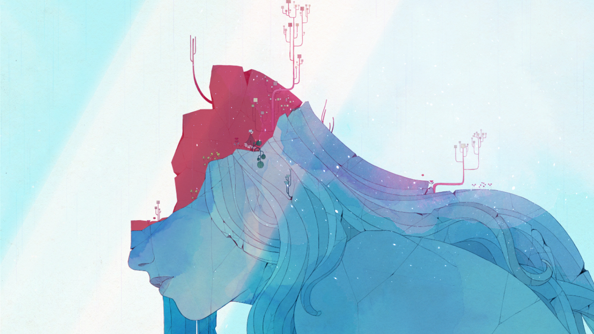 GRIS - A gorgeous new platformer on Switch with a heartfelt message about personal growth? Done.