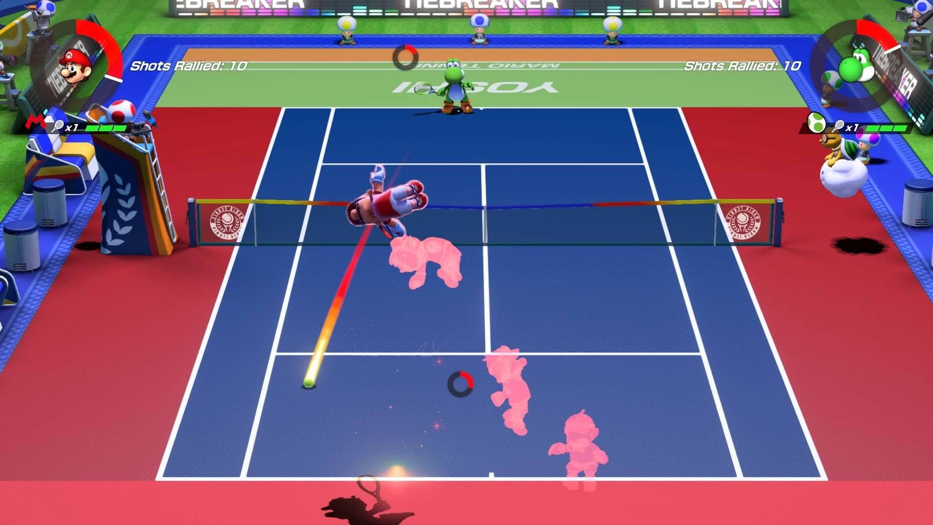 Mario Tennis Aces - It just looks fun!
