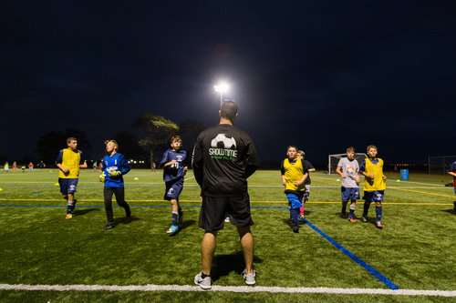 - Throughout the course of the season, our trainers will provide professional instruction through various activities throughout each session that are in line with each team's philosophy. Our trainers are chosen because they share these qualities and we want to instill them in our young players so they may go on to bigger and better things.