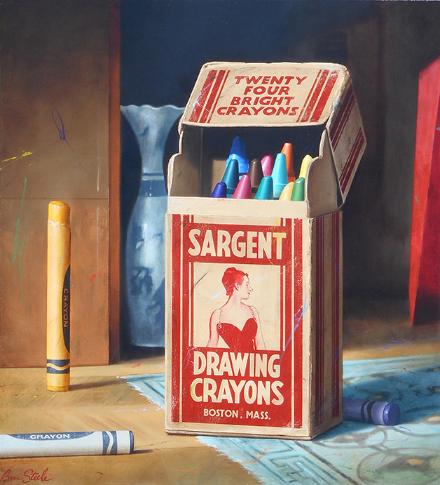 The Crayons of John Singer Sargent, 2017