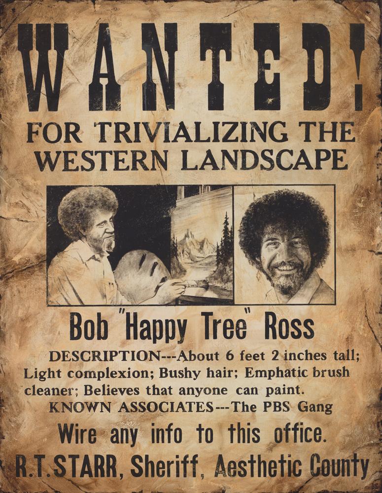 """Bob """"Happy Tree"""" Ross, 2013"""