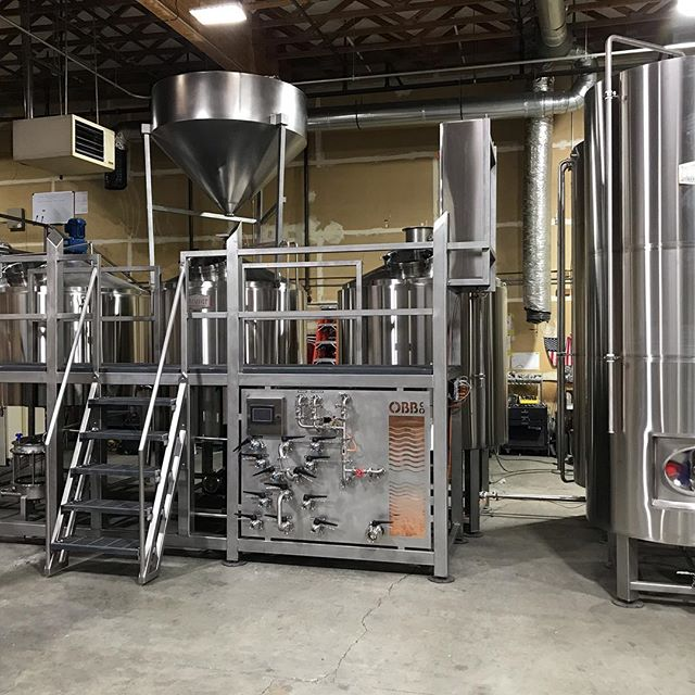 15 bbl steam 3 vessel with 45 bbl HLT and 30 bbl CLT. Shipping out to its new home at Other Brother Brewing Co. In Seaside California.