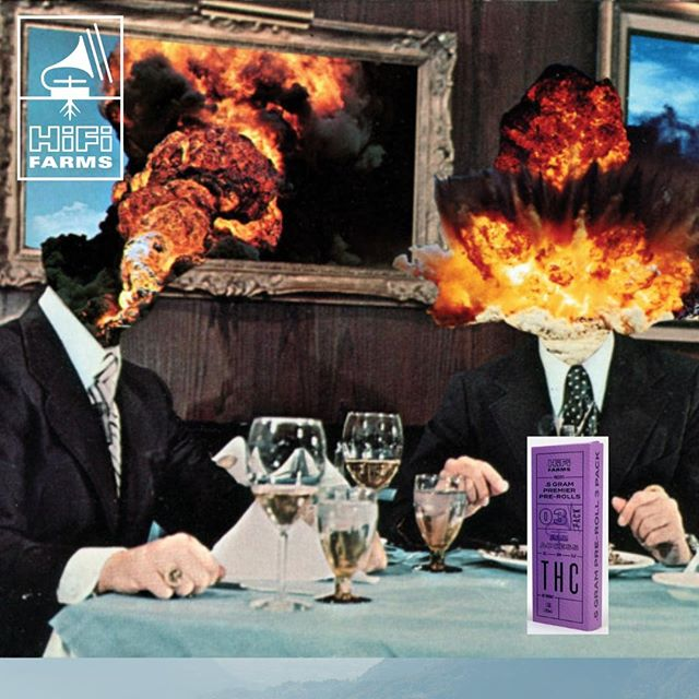 HiFi Farms Pre-Rolls will blow your frickin' mind* . . . . *In a good way  . . . . #HiFiFarms #PreRolls #CraftCannabis #CleanGreenCertified #OregonCannabis