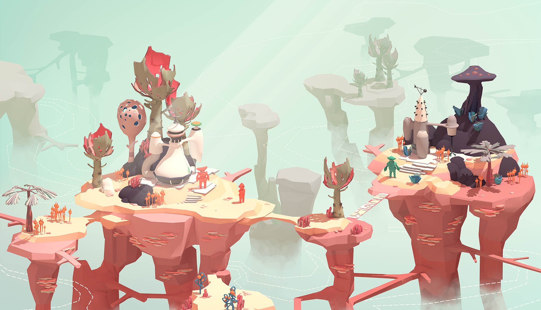 Sandcastles - In this playful take on VR gaming you attempt to restore order to a world that is spiralling out of control around you.