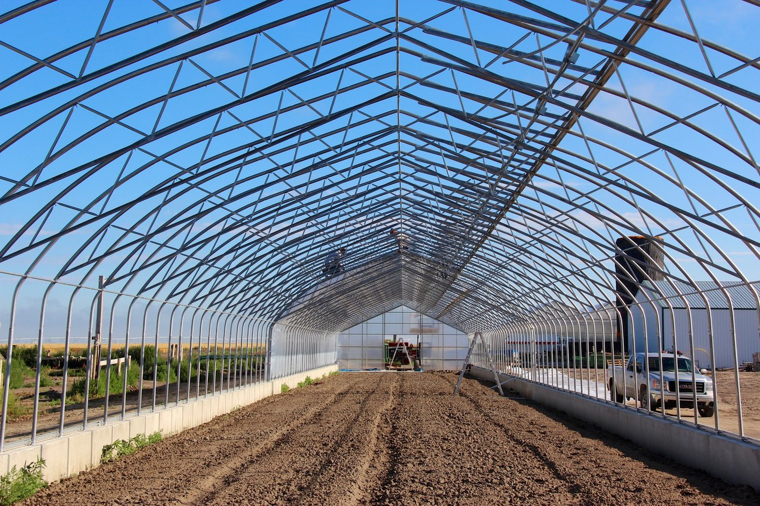 building one of the stand alone greenhouses