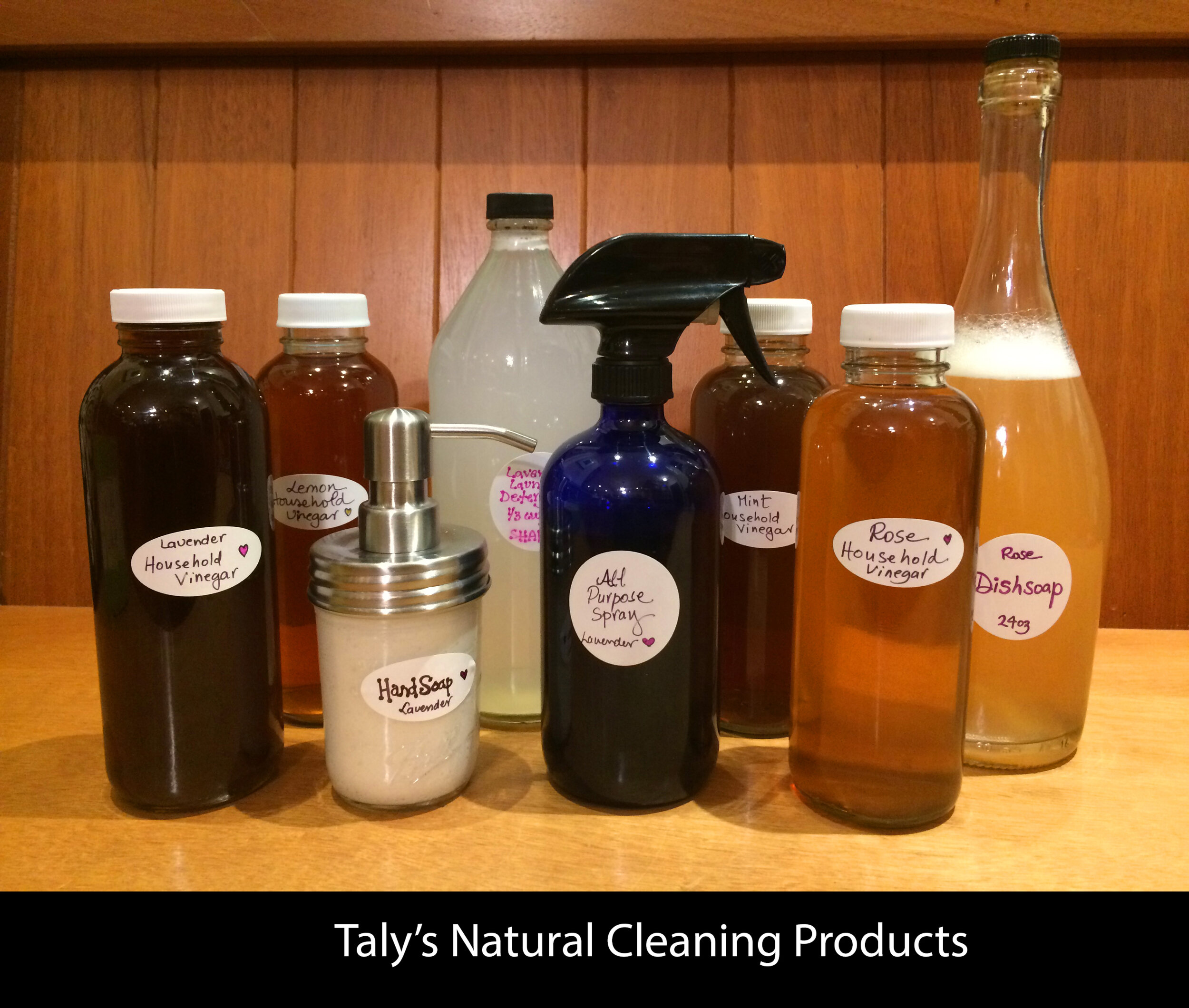 Taly's Natural Cleaning Products