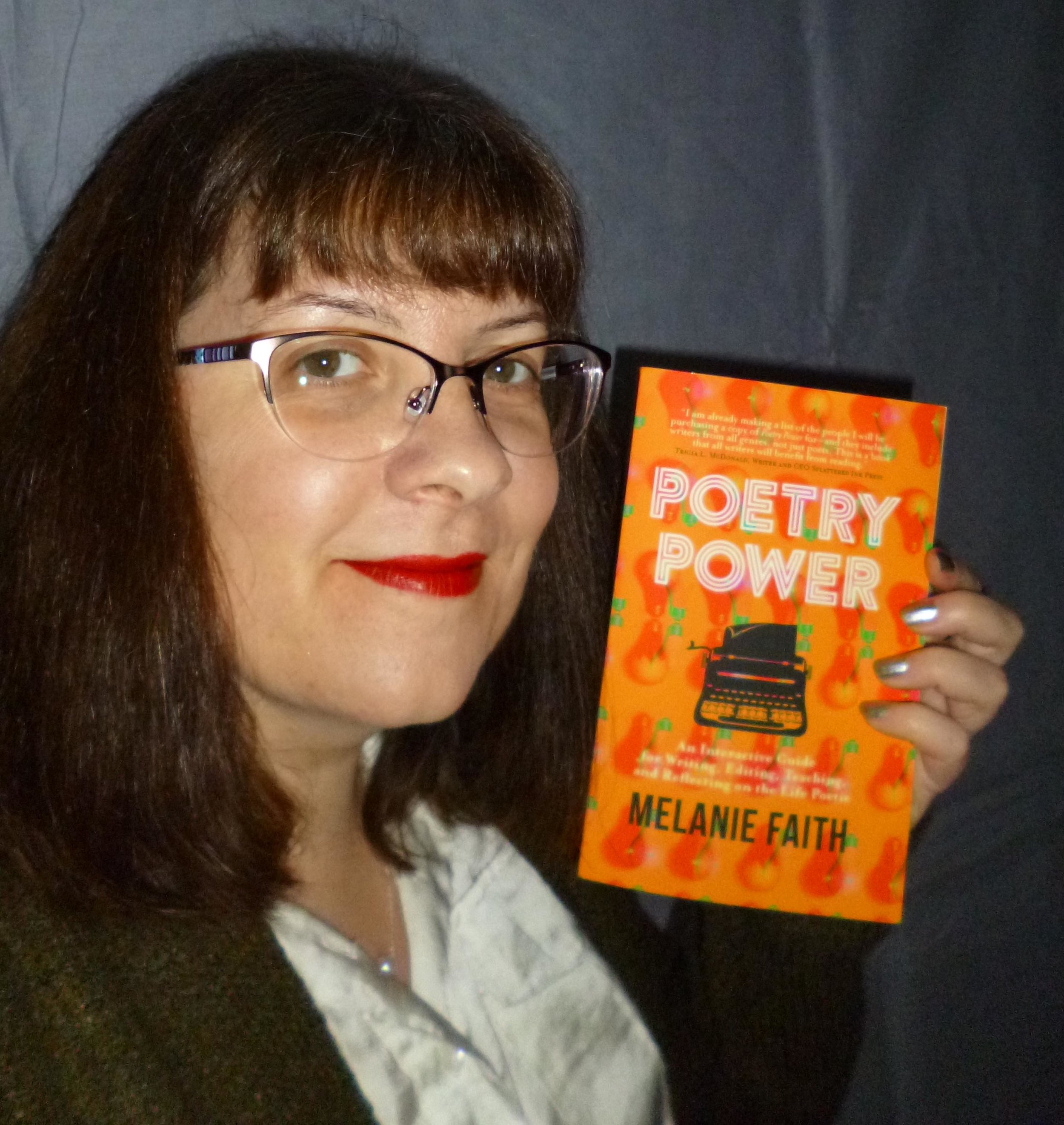 "What reviewers are saying: ""Reading Poetry Power by Melanie Faith--chock-full of humour, personal asides, and sensible, doable suggestions to improve one's writing--I felt a continual urge to write and revise my poems. A perfect guide for the poet who wants a refresher course in the basics of this 'little genre' (and a few photography hints) from a new point of view and who needs a nudge to live more deliberately, Faith's book reminds me of an intimate conversation between two engaged introverts for whom layers of complicated interior depth--juxtaposed in the 'nooks and crannies' of dreams and fragments of memory--hold the key to discovery and development of a unique, artistic voice that rings with universality."" Helen Losse, author of  Every Tender Reed     ""This is the definitive book on, for, and about poetry. Melanie more than delivers on the promise she made in the Introduction: This book is meant to reach you where you are and to withstand multiple readings as you explore your individual writer's path. Indeed! I find that no matter what funk I'm in, I open Poetry Power and I discover my next step on my poetry journey. I know my fellow poets will too!"" Mari L. McCarthy, International Best-Selling Author of  Journaling Power: How To Create The Happy, Healthy Life You Want To Live!"