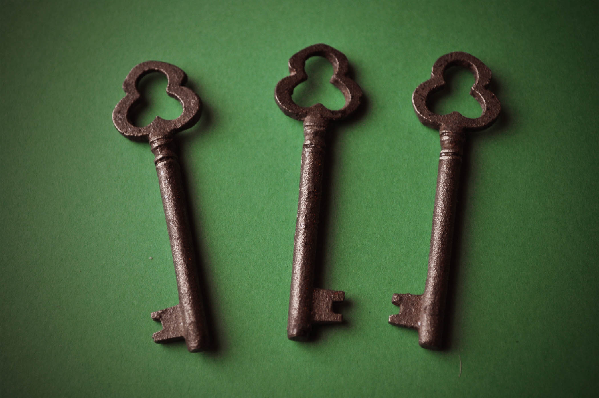 Fourth&Sycamore submission--In the Green Series--Three Clover Keys.jpg