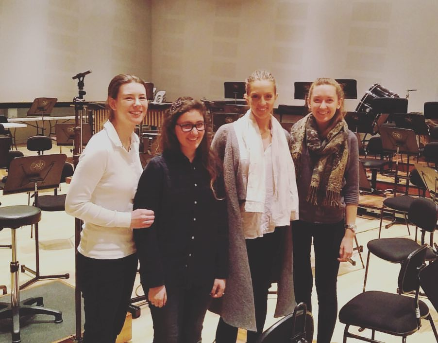 My Masters pals working with the TSO in 2016