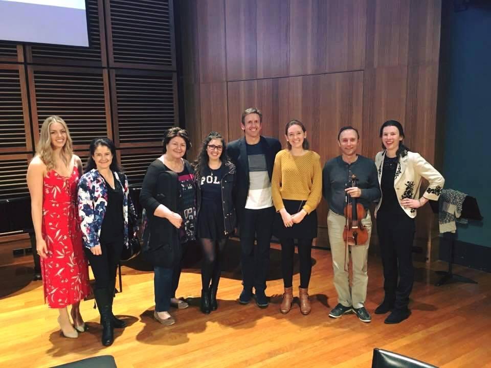 Back with the Goldner String Quartet in 2017