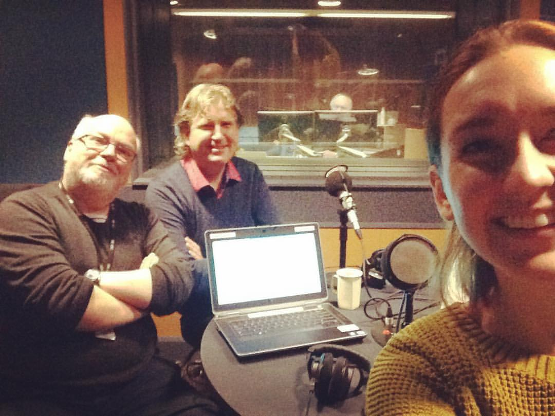 On The Music Show with Andrew Ford and Antony Pitts in 2017
