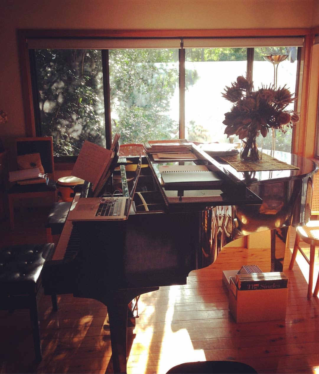 My family home, my composition oasis