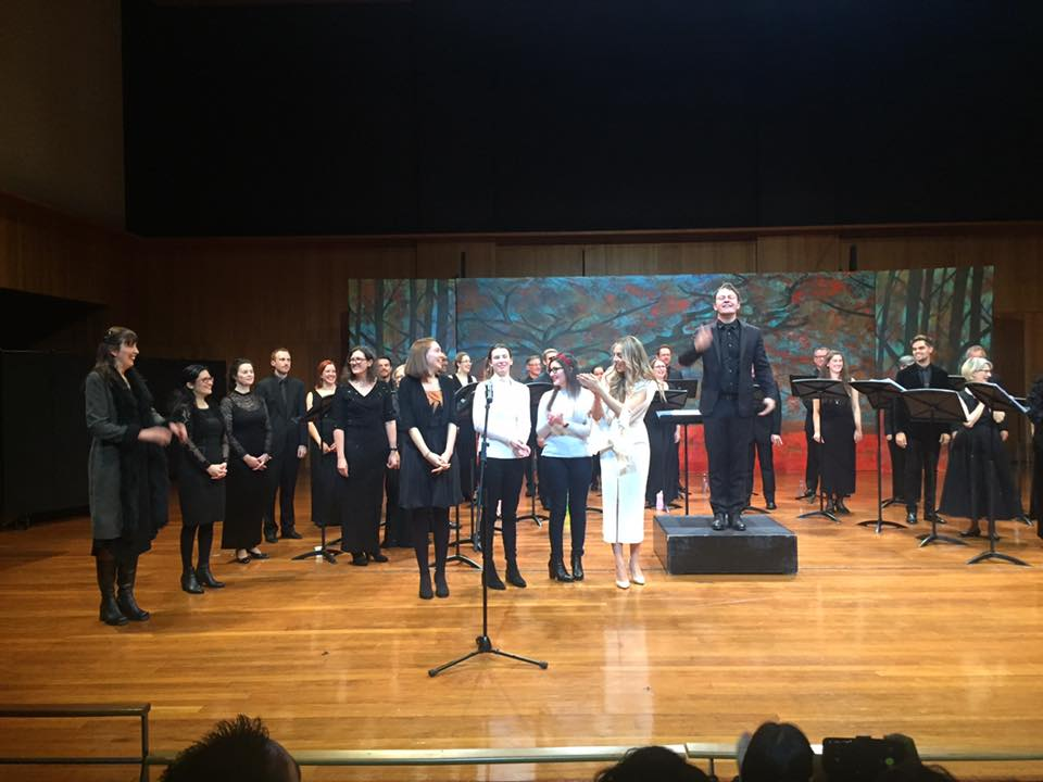 A premiere performance with Sydney Philharmonia Choirs in 2017