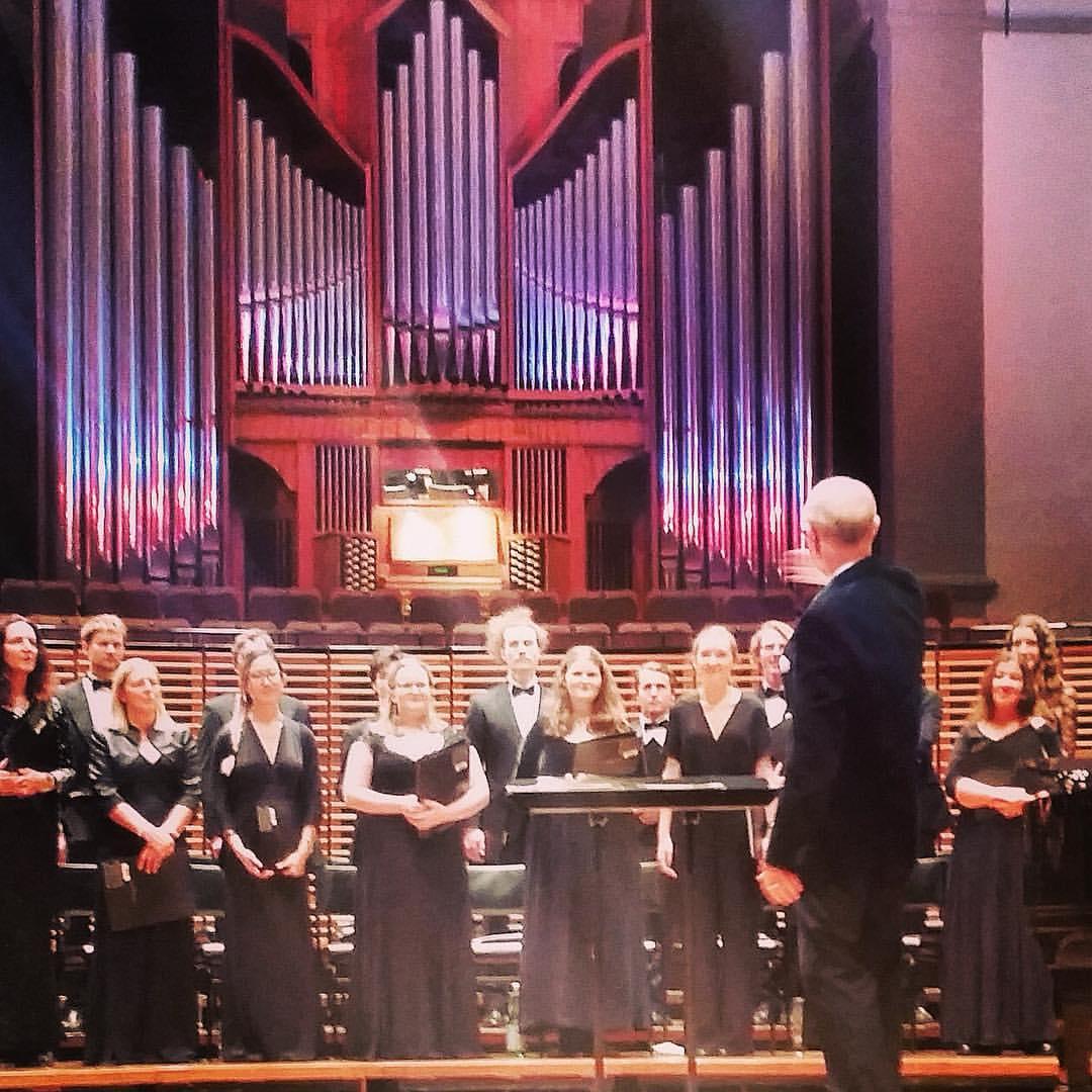 The Sydney Con Chamber Choir perform 'Ar Dieviņu' in 2016