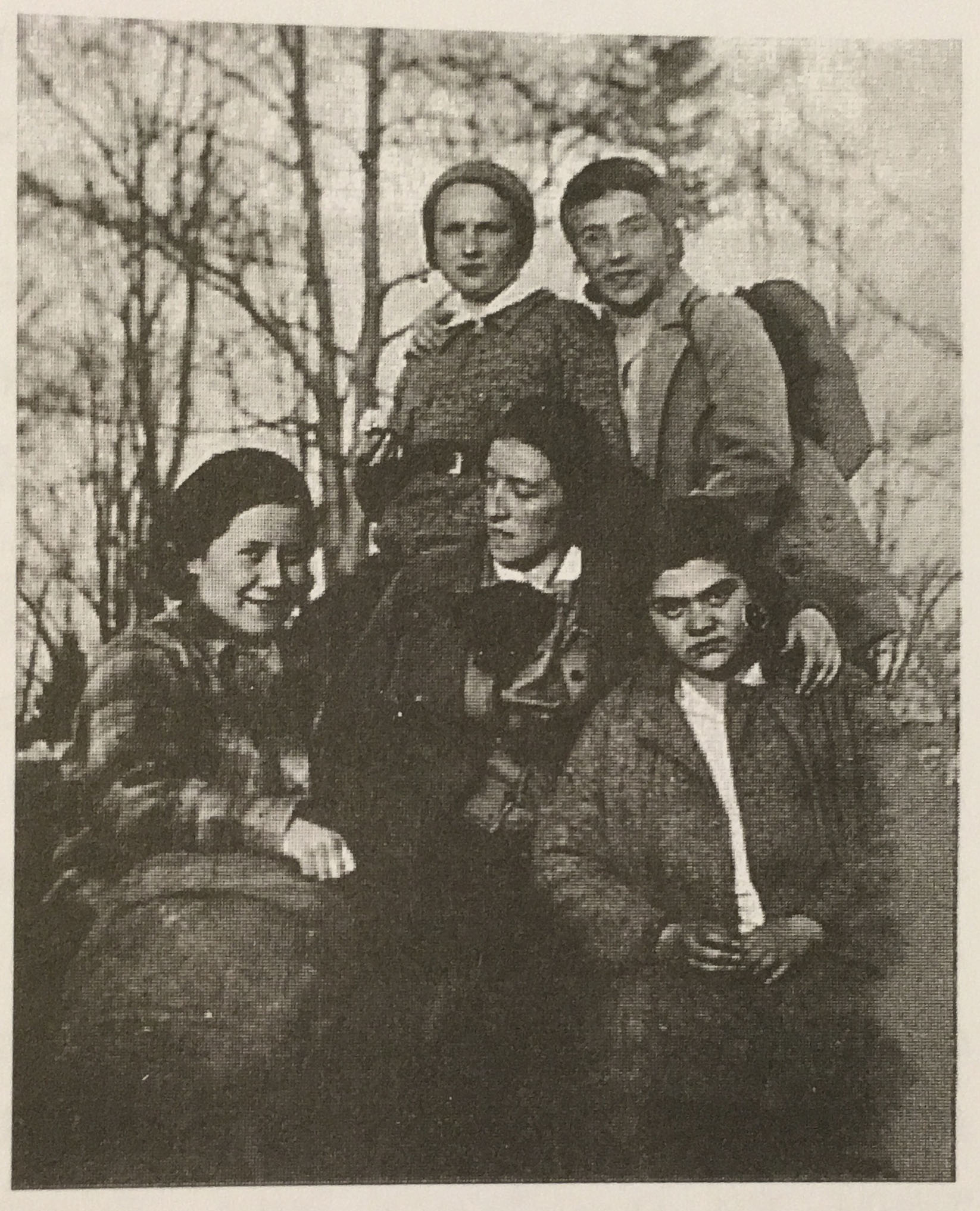 A group of Bais Yaakov Teachers, Notice How young these women are (Photo Taken from Carry Me In Your Heart, the Life And Legacy of Sarah Schenirer)