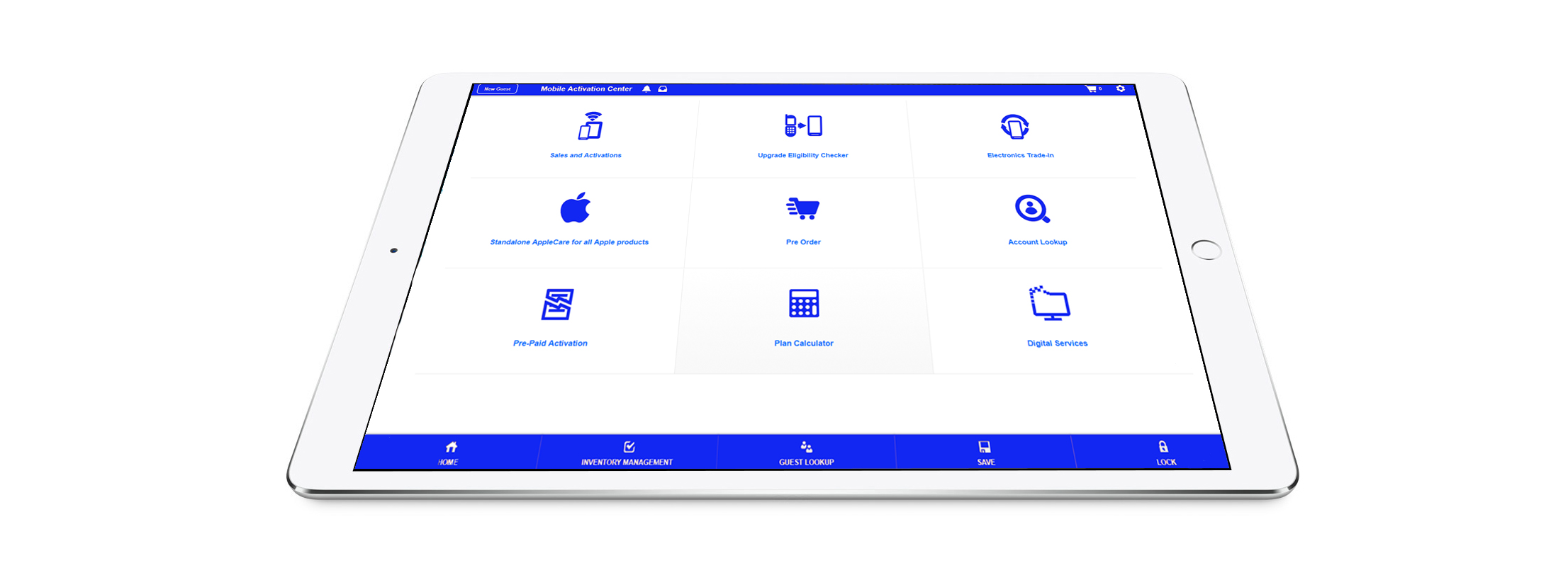The  Marketplace Cloud™  | The Point of Sale (POS) system that is tailor-made for the sale of connected products and services at the point of purchase.