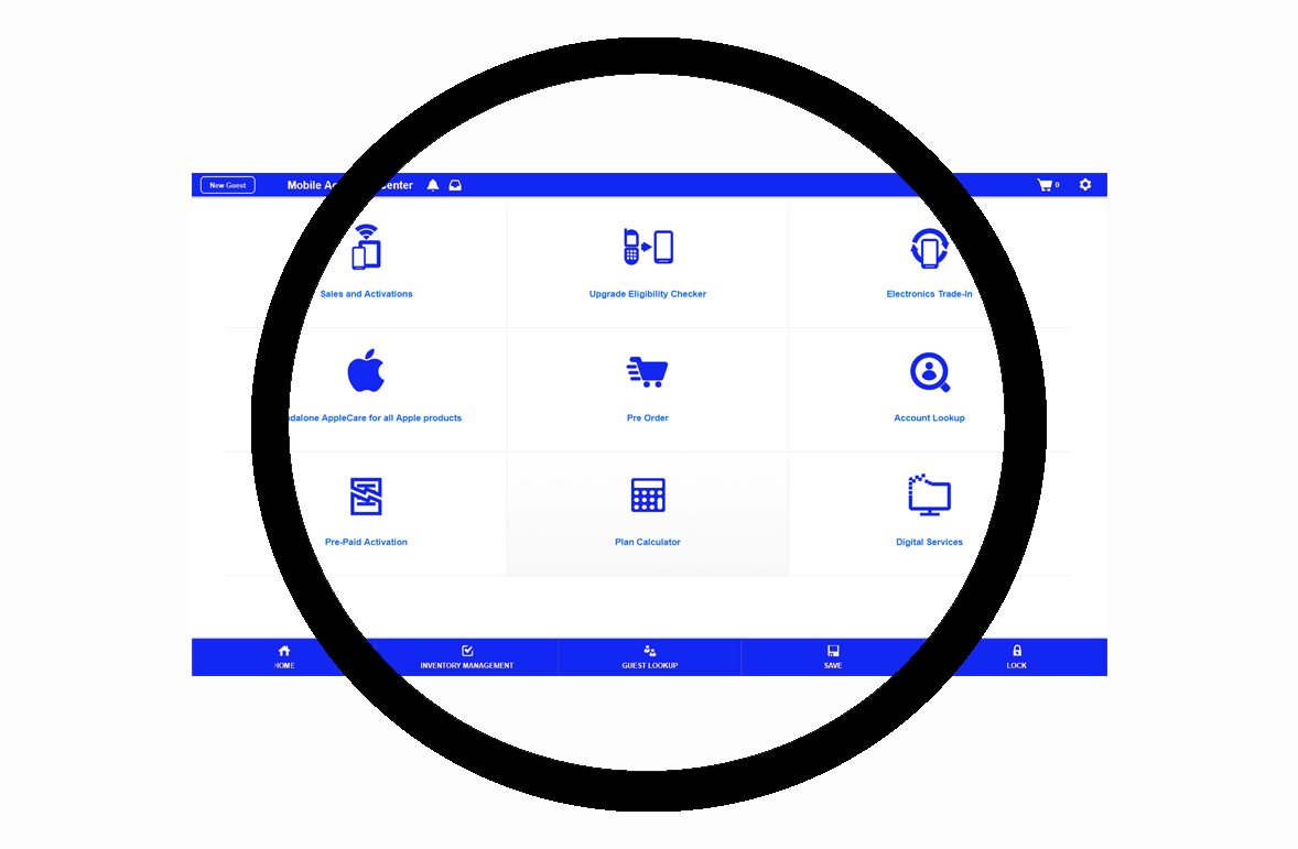 Marketplace Cloud™  UI can be tailored to any service you want to sell.